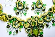 My soutache jewelry / soutache, sutasz