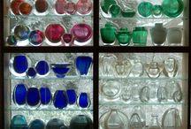 Spijkerglas Leerdam / Controled Bubbles Glass Dutch Design / Andries Dirk Copier & Floris Meydam