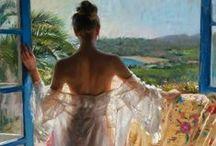 Vicente Romero Redondo / Figurative Painter