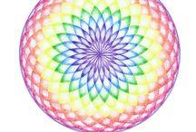 Regenboog Mandala / Rainbow Mandala