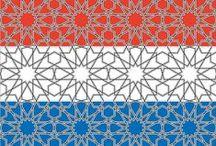 Islamitische patronen / Islamic patterns / Oosterse patronen Patterns Islamic / Arabic