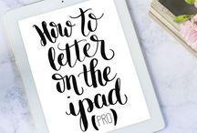 Hand lettering (iPad)