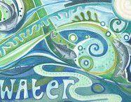 Elements Air Water Fire Earth Spirit