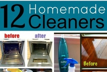 Clean & Green / Tips for cleaning and how to rid your house of all those toxic chemicals you don't need. / by Cinda Polley