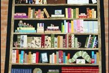 Bookcase Quilt / Quilts featuring bookcases / by Elizabeth-Ann Phares