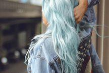 Hair Obsessed / Coloured hair rules the world.