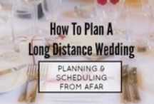 LDR Weddings / Inspiration, Articles and ideas for anyone who would like to incorporate a long distance theme into their wedding!