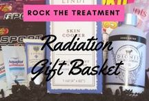 GIFT BASKET FOR RADIATION PATIENTS / This basket is designed for someone who is enduring all of the side effects from radiation treatment. The items are designed specifically for healing the skin, boost energy and reducing irritation.