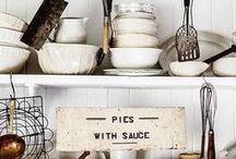 KITCHEN / Vogue designs of kitchens and kitchen stuff. Go ahead, plagiarize.