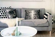 DECOR | LIVING ROOM / Living room decor. Decoração sala de estar.