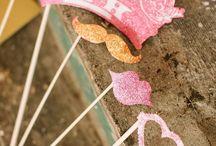 PINK&GOLD PARTY / Pink and Gold Party. Festa Rosa e Dourado.
