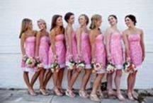 The Bridal Party / Even though it's all about the bride, everyone in the wedding party has to look good too!