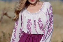 La blouse roumaine by Anilu / Famous handmade Romanian blouse by Anilu