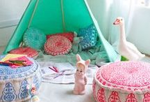 Indoor dens - tents and tepees