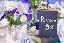 Literary weddings / Because this is Pinterest so I need a wedding board, right? :P