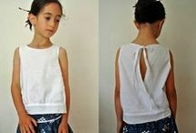 sewing for girls / handmade girl clothes