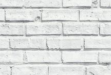 Brick Wallpaper & Interiors / Wallpapers featuring an industrial brick-like effect design, great for your home interiors!