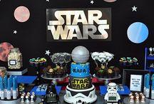 STAR WARS PARTY / Star Wars Party. Festa Star Wars.