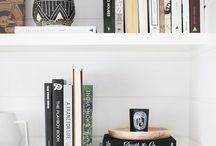 DECOR | BOOKS / Decor with books. Decoração com livros.