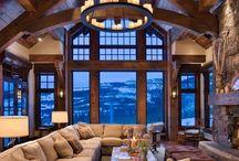 WOOD HOUSE / Wood house inspiration. Inspiração casa de madeira.