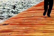 The Floating Piers by Christo @ Lago d'Iseo, Italy