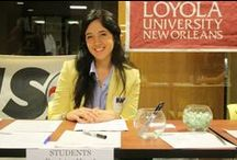 On the SMC Red Carpet / Newsmakers and events that are trending at Loyno SMC.
