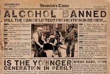 Moonshine / Prohibition, Speakeasy and roaring years
