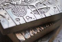 Lino print nature / A collection of inspirational ideas for lino printing