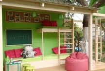 Playground in the backyard / The best ideas of playgrounds