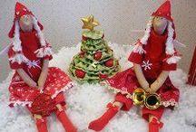 Тильды рождественские