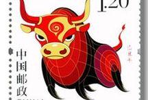 Stamps знаки зодиака