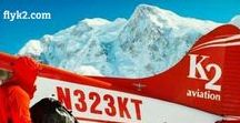 Climb to new heights with K2 / K2 Aviation offers a wide range of support services to adventurous climbers looking to scale Denali. Visit flyk2.com and let us help you plan your next climb.
