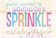 Sprinkle Celebration - Girls Birthday / Sprinkle ideas for your sprinkle birthday!