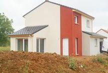 Chantier Liverdun (54) / Maison Etage RT2012 Démarrage Novembre 2013