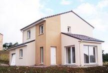 Chantier Bouxières-sous-Froidmont (54) / Maison étage RT 2012 démarrage novembre 2013