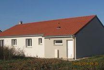 Chantier Aulnois-sur-Seille (57) / Maison de plain-pied RT2012 démarrage Décembre 2013
