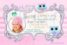 Owl Themed Birthday / Ideas for your Owl inspired themed birthday