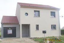 Chantier Rosières-en-haye 2 (54) / Maison à étage Démarrage chantier Janvier 2014