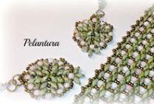 Mi trabajo: PELANTURA / Pendientes, pulseras, broches, anillos... realizados por mi: http://pelantura.blogspot.com.es/