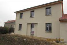 Chantier Battigny (54) / Maison à étage RT2005 , démarrage prévu courant Mars 2014