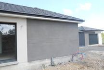 Chantier Nomeny (54) / Maison de plain-pied avec patio intérieur , garage indépendant