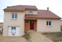 Chantier Barisey-la-cote (54) / Maison demi-niveau et combles aménageables en RT2005