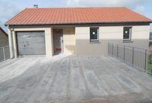 Chantier Bouxières-aux-dames 2 (54) / Maison sur sous-sol inversé + R1