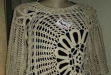 Roupas de Crochê / Moda, decoração,acessórios emcrochê