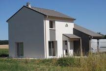 Chantier Gye (54) / Maison en R+1 RT2012 en brique Homebric de Wienerberger