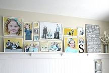 Deck your Walls / Displaying portraits in your favorite space