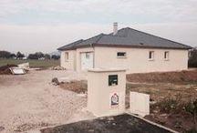 Chantier Pulnoy (54) / Maison de plain-pied en U en brique Homebric de Wienerberger