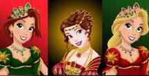 Disney - princesas / Imagens e fotos das princesas da Disney em todos os jeitos e situações possíveis!