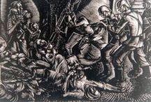 Δ Ι Σ Τ Ο Μ Ο / Πρόκειται για ένα από τα μεγαλύτερα εγκλήματα των Ναζί στην Ελλάδα.Προκάλεσε διεθνή κατακραυγή και πανελλήνιο πένθος.10 Ιουνίου 1944 μια στρατιωτική φάλαγγα των Ες-Ες δέχονται επίθεση ,στη θέση Καταβόθρα από τις δυνάμεις του ΕΛΑΣ(νεκροί 40,τραυματίες 15).Ο Χανς Ζάμπελ έδωσε διαταγή (αντίποινα )να σφαγιασθούν οι κατοικοι του Διστόμου και να πυρποληθεί ολόκληρο το χωριό(νεκροί 114 γυναίκες 104 άνδρες ).Οι μαρτυρίες όσων επέζησαν είναι κυριολεκτικά ανατριχιαστικές.
