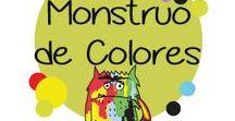 monstruo colores